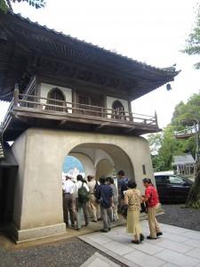 桂林寺の門