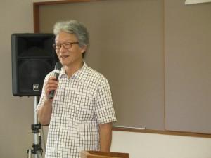中井武四氏の講演