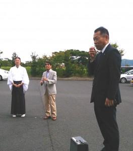 井上宮津市長のご挨拶