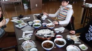 ばら寿司体験」