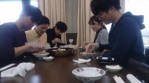 ばら寿司体験