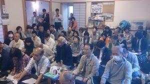 山崎副市長から歓迎のあいさつ